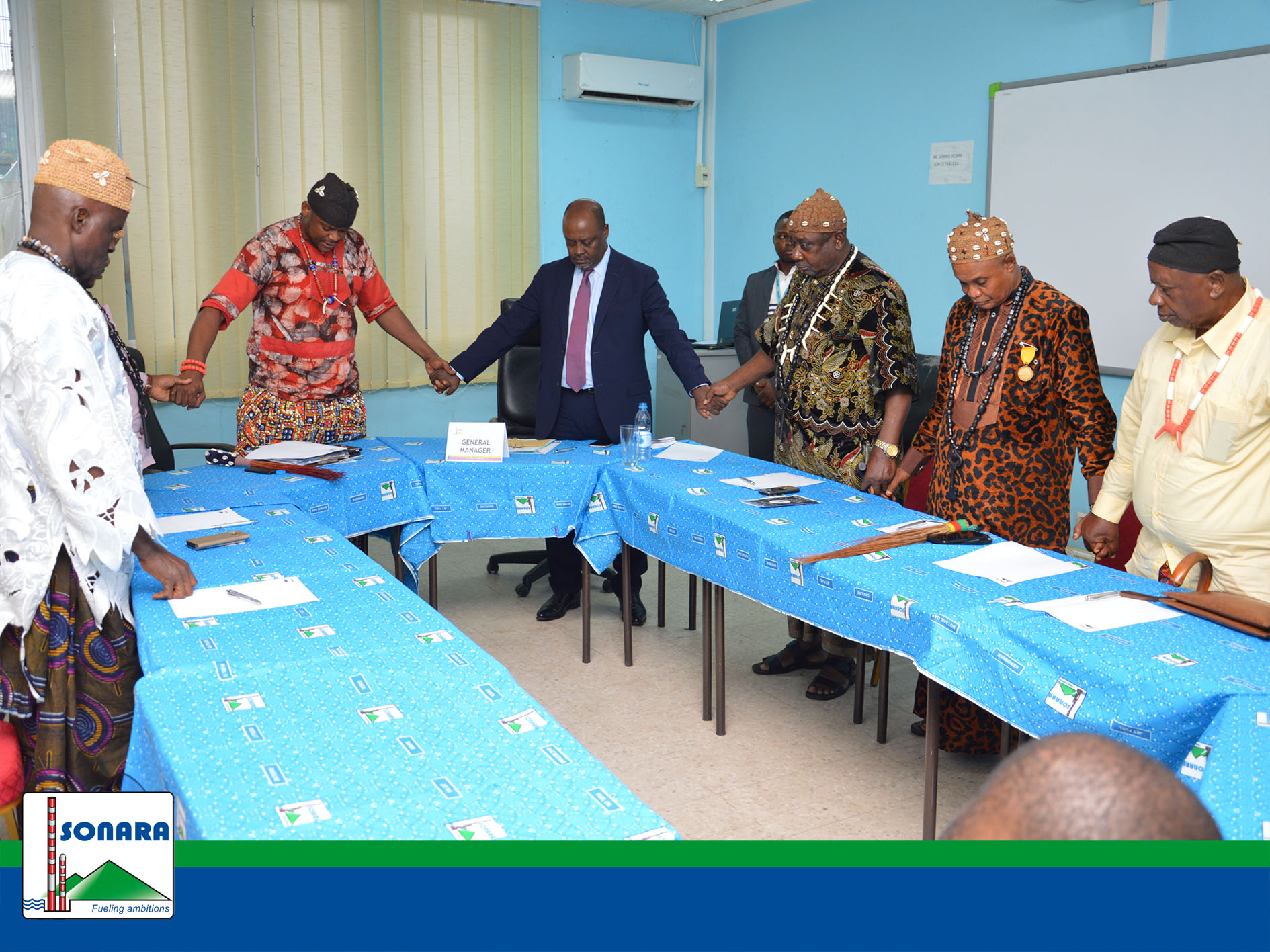 Visit of the Fako Chiefs' Conference to SONARA on Wednesday 12 June 2019